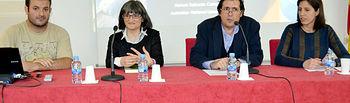 Manuel Delicado, Alicia Mellado, Matías Barchino y Raquel González.