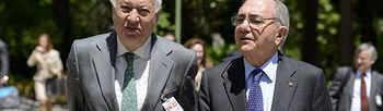 José Manuel García Margallo y su homólogo portugués (Foto: EFE)