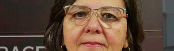 Victoria Delicado, diputada portavoz de Ganemos-Izquierda Unida.