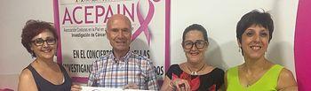 Acepain recibe donativo de Acaluca.