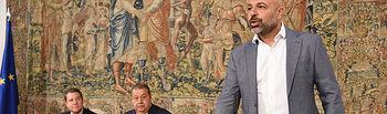 José García Molina toma posesión de la Vicepresidencia Segunda del Gobierno de Castilla-La Mancha. (Fotos: José Ramón Márquez // JCCM)