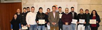 Cierre de curso y entrega de diplomas alcalde Bargas