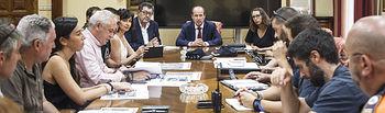 Reunión técnica para la organización de la Vuelta Ciclista a España. Foto: ©JRopero