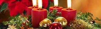 Adornos de Navidad. Foto de Archivo.