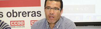 Hassen Rejbi, técnico de empleo y migraciones de CCOO CLM