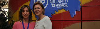 María Dolores Cospedal en el Congreso Provincial del PP de Guadalajara