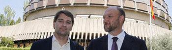 Antonio Pradas y Manuel de la Rocha Vázquez