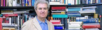 César Antonio Molina, exministro y Director de la Casa del Lector.