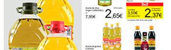 Captura de un nuevo folleto de Carrefour en el que continúa con las ofertas abusivas.. Foto: UPA.