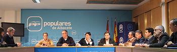 Comité de dirección del PP de Albacete