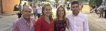 La directora general de Relaciones Institucionales y Asuntos Europeos asiste a las fiestas patronales de Villarrubia de Santiago (Toledo)