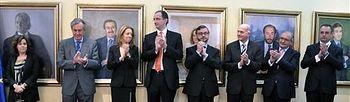 Tomás de posesión. Foto: lamoncloa.gob.es.