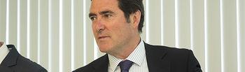 Antonio Garamendi, presidente de Cepyme y vicepresidente de CEOE.