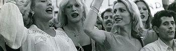 Primeras manifestaciones celebradas por la lucha del colectivo LGTBI.