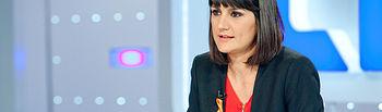 González Veracruz durante su entrevista en TVE