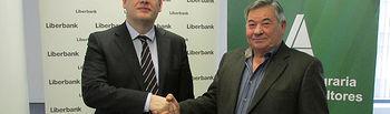 ASAJA Albacete y Liberbank se unen facilitar los trámites de las solicitudes de la PAC a agricultores y ganaderos de la provincia