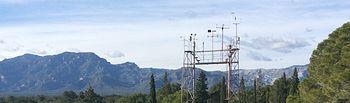 AEMET-Observatorio Ebro. Foto: Ministerio de Agricultura, Alimentación y Medio Ambiente