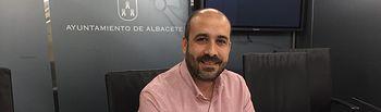 Alfonso Moratalla, portavoz de Unidas Podemos.