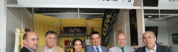 Toledo, 13-10-2017.- El consejero de Agricultura, Medio Ambiente y Desarrollo Rural, Francisco Martínez Arroyo visita la Feria Regional de Artesanía (FARCAMA), en el Centro de Recepción de Turistas 'Toletvm'. (Foto: Álvaro Ruiz // JCCM)