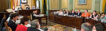 Pleno de la Diputación Provincial de Albacete.