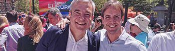Cristiano Brown y Luis Garicano.