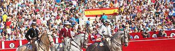 Cartagena  Ventura y Munera por colleras-1 - Corrida rejones 11-09-16.JPG