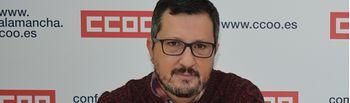 Alberto Jiménez, secretario provincial de Enseñanza de CCOO en Albacete.