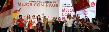 Acto público en La Puebla de Móntalban (Toledo).