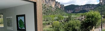 Uña (Cuenca), 02/01/2011.- Imagen del Centro de Interpretación de Uña. (Foto: Esther Pastor)