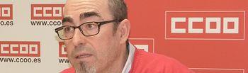 Paco de la Rosa, secretario general de CCOO CLM.