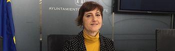 Carmen Fajardo, concejala Unidas Podemos en el Ayuntamiento de Albacete.