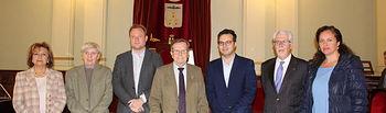 El alcalde da la bienvenida a los 23 aspirantes al Premio Ciudad de Albacete del XXXIX Concurso Nacional de Jóvenes Pianistas