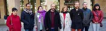 Presentación de la candidatura de Unidas Podemos a las elecciones municipales en Albacete