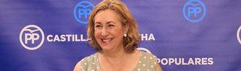 Silvia Valmaña, vicesecretaria de Acción Política del PP de Castilla-La Mancha y diputada nacional.