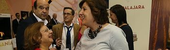 Cristina García Rodero junto a Patricia Franco en FITUR.