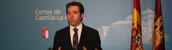 Lorenzo Robisco en rueda de prensa.