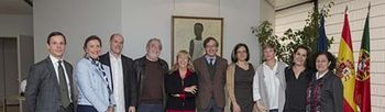 Foto de familia del acto (Foto: EFE)