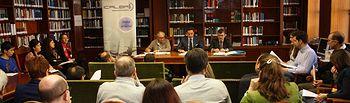 Junta General Ordinaria en la que se ha aprobado el cambio de denominación de la institución colegial, que pasará a denominarse Ilustre Colegio de la Abogacía de Albacete