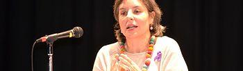 Araceli Martínez alerta sobre las múltiples parcelas de desigualdad que aún persisten en la sociedad. Foto: JCCM.