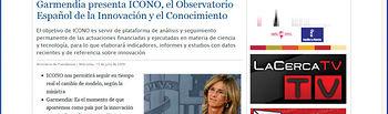 """Rodríguez: """"El Grupo de Comunicación La Cerca siempre se ha adelantado en la aplicación de las nuevas tecnologías"""""""