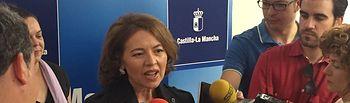 Aurelia Sánchez (Declaraciones sobre Dependencia). Foto: JCCM.