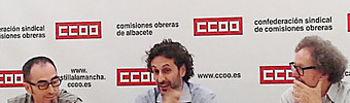 Paco de la Rosa, Antonio Loffredo y Joaquín Aparicio