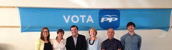 Candidatura del PP en Peñascosa.