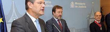 El ministro de Justicia, Rafael Catalá durante el acto (Foto: Ministerio de Justicia)