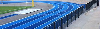 Pistas de atletismo del Centro Deportivo Municipal 'Valdeluz'
