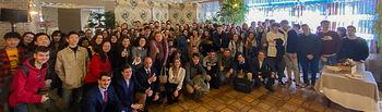 Estudiantes, profesores y responsables del establecimiento. © UCLM