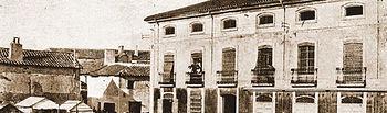 Plaza de Don Pablo, también llamada de Mateo Valera, actual Plaza de las Carretas. Principios del siglo XX.
