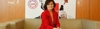 Carmen Calvo, secretaria de Igualdad del PSOE y vicepresidenta del Gobierno.