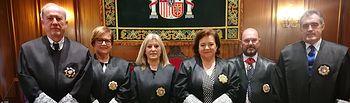 Toma de Posesión de la magistrada Luisa María Gómez Garrido  como nueva  presidenta de la Sala de lo Social del TSJCM.