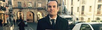 El coordinador de la agrupación C's de Cuenca, Antonio Carrasco Valladolid